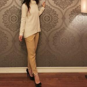 Club Monaco 100% silk trousers